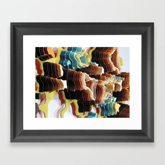 Fermatic Wilderness Framed Art Print