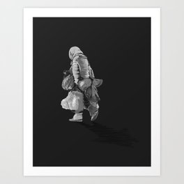Never Arriving 2.0 Art Print