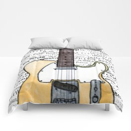 Music for the Soul & Spirit - Off-White Series Comforters