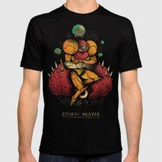 bounty hunter SMALL Mens Fitted Tee Black