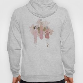 Pink and Gold Hoody