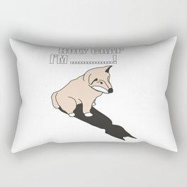 Mr Husky: Holy Crap Rectangular Pillow