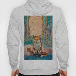 Daydreaming Fox Hoody