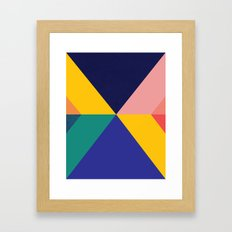 Tectonic Human Dignity Framed Art Print