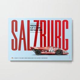 917 Salzburg Tribute Metal Print