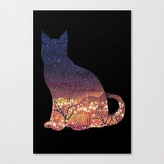 Space Cat Canvas Print