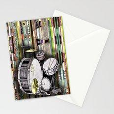 Drum Kit Stationery Cards