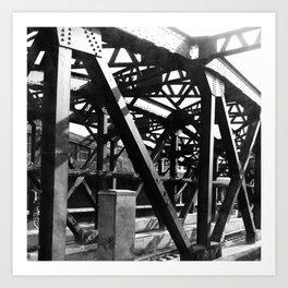 Brooklyn Train Art Print