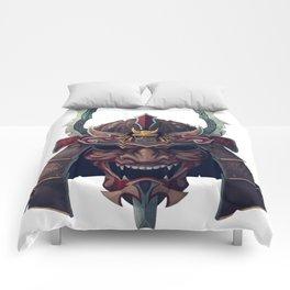 Japan Samurai Oni Mask Comforters