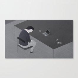 Freelancer Canvas Print