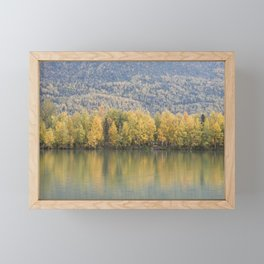 The Other Side of the Lake Framed Mini Art Print