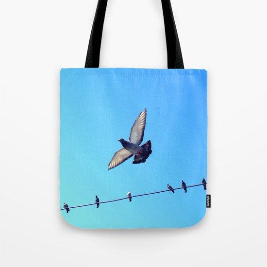bird set free Tote Bag