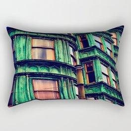 Day 55: Zoetrope Green Rectangular Pillow