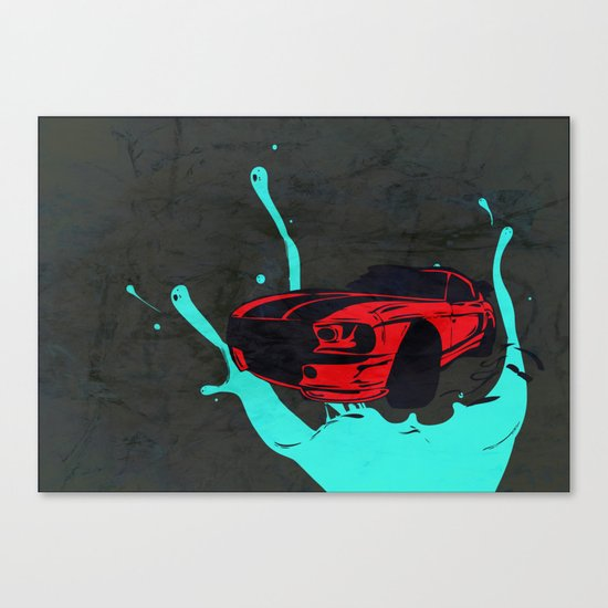 new Car ?? Canvas Print
