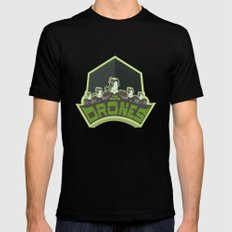 The Borg Drones Mens Fitted Tee LARGE Black