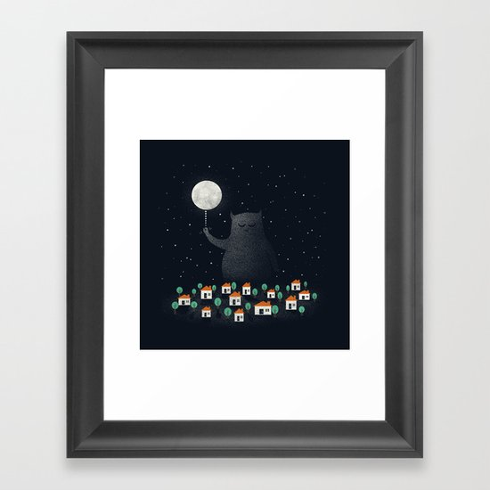 Good Night, Sleep Tight Framed Art Print