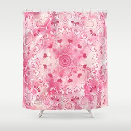 """""""The Suitor's Plea"""" Kaleidoscope 5 by Angelique G. @FromtheBreathofDaydreams Shower Curtain"""