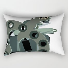 Machine one Rectangular Pillow