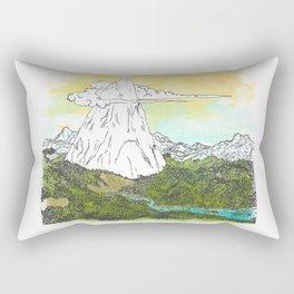 Ol' Lonely Mtn Rectangular Pillow