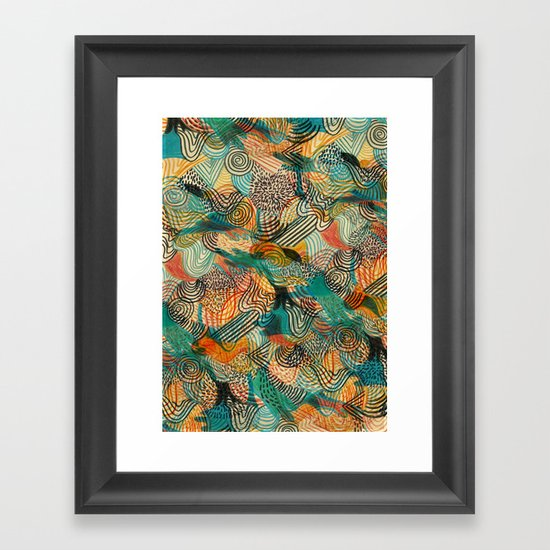I'm crazy about Estelle Framed Art Print