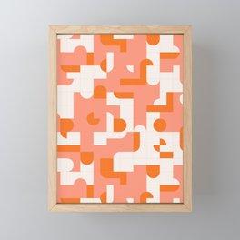 Puzzle Tiles #society6 #pattern Framed Mini Art Print