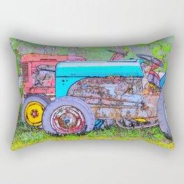Antique Buddies! Rectangular Pillow