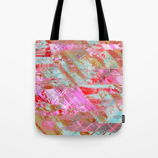 Confidence - Abstract, textured oil painting Tote Bag