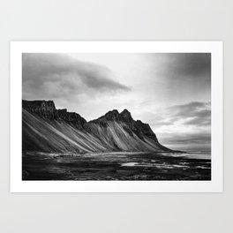 Stokksnes, Iceland Art Print