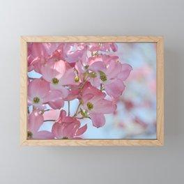 Pretty Dogwood Floral Framed Mini Art Print