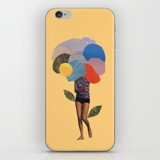 i dream of you amid the flowers iPhone & iPod Skin