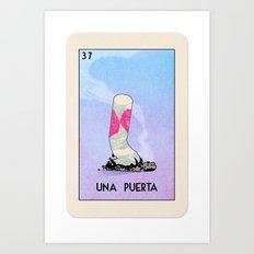 BB Loteria Card No.37 - A Door Art Print