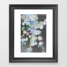 Inverted Decor Framed Art Print