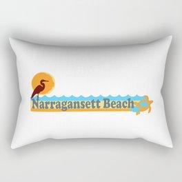 Narragansett - Rhode Island. Rectangular Pillow