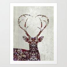 My Deer Love, Art Print