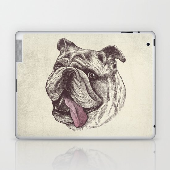 Bulldog King Laptop & iPad Skin