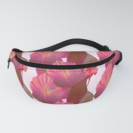 Canna Tropicanna Floral in Pink #6 Fanny Pack