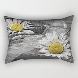 Daisy And Tulle Rectangular Pillow