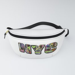 NYC (typography) Fanny Pack