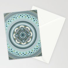 Blue Mandala Stationery Cards