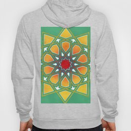 Yellow Rosette Hoody