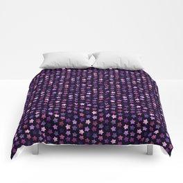 Sweet Stars (Purple) Comforters
