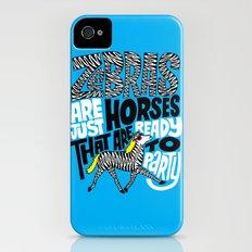 Party Horses iPhone (4, 4s) Slim Case
