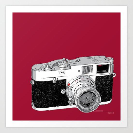 Leica M1 Art Print