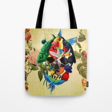 Avian skull Tote Bag