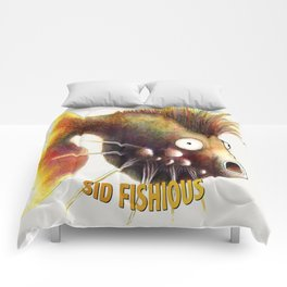 Sid Fishious with name Comforters
