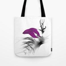 Fish never sleep Tote Bag