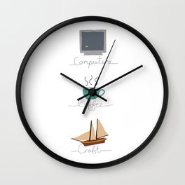 Craft Wall Clock
