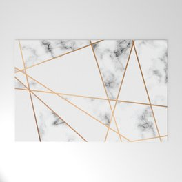 Marble Geometry 054 Welcome Mat