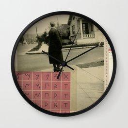 skeptical Wall Clock