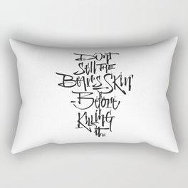 BEARSKIN Rectangular Pillow